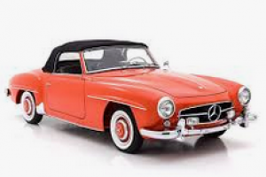Szyba do Mercedes 190SL W121 CABRIO ROADSTER 02